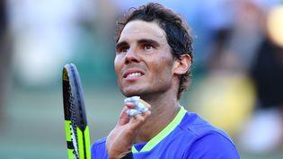 Rafael Nadal le 9 juin 2017 à Roland-Garros. (MUSTAFA YALCIN / ANADOLU AGENCY)