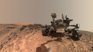 Le Nasa a publié la photo du robot Curiosity sur laplanète Mars, le 7 juin 2018. (HANDOUT / NASA)