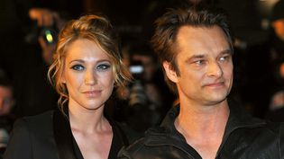 Laura Smet et David Hallyday en 2010 aux NRJ Music Awards.  (Lorenvu TV / NMA 10 / SIPA)
