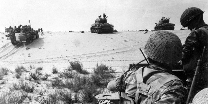 Percée israélienne pendant la guerre des six jours (1967) (AFP)