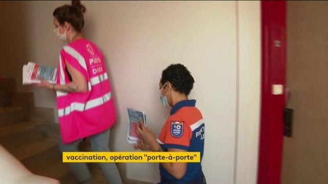 Vaccin contre le Covid-19 : opération de porte-à-porte à Paris