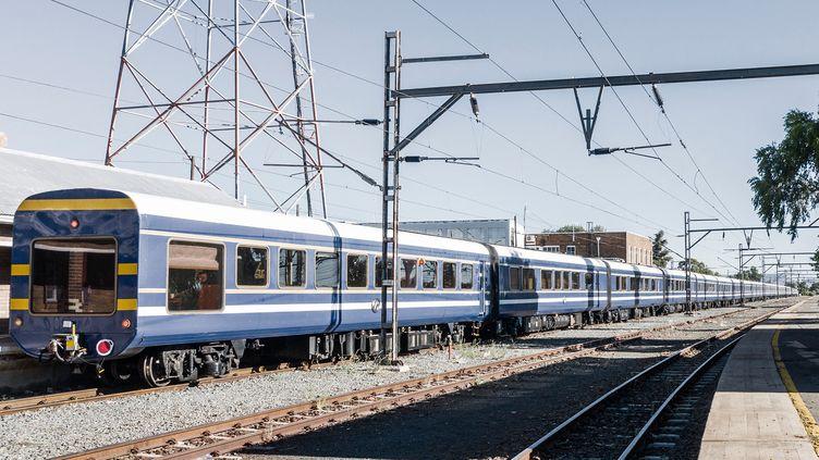 Le Blue Train d'Afrique du Sud (MARCO LONGARI / AFP)