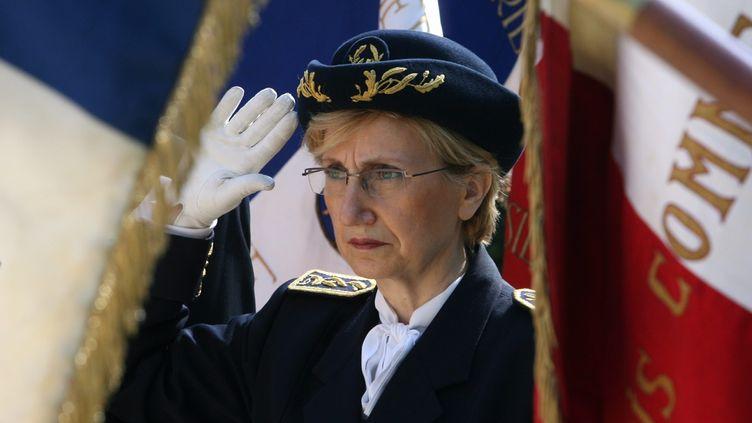 La préfète du département de Charente,Danièle Polvé-Montmasson, le 12 octobre 2011 à Rodez (Aveyron), est l'une des rares femmes du corps préfectoral français. (JEAN LOUIS PRADELS / LA DEPECHE DU MIDI/MAXPPP)