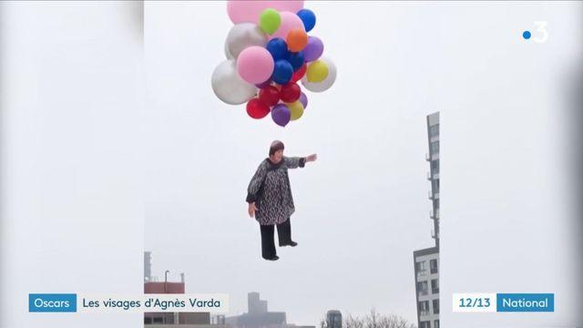 Oscars : les visages d'Agnès Varda
