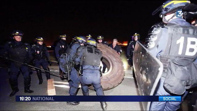 Loi Travail : tensions devant la raffinerie de Fos-sur-Mer