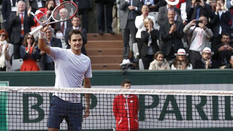 Le joueur suisse Roger Federer