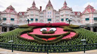 Le parc d'attractions de Disneyland Paris, le 9 mars 2020. (JULIEN MATTIA / ANADOLU AGENCY / AFP)