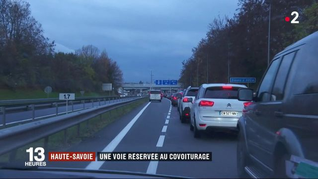 Haute-Savoie : une voie réservée au covoiturage