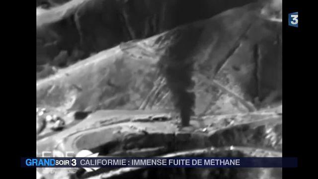 Une fuite massive de méthane menace la Californie