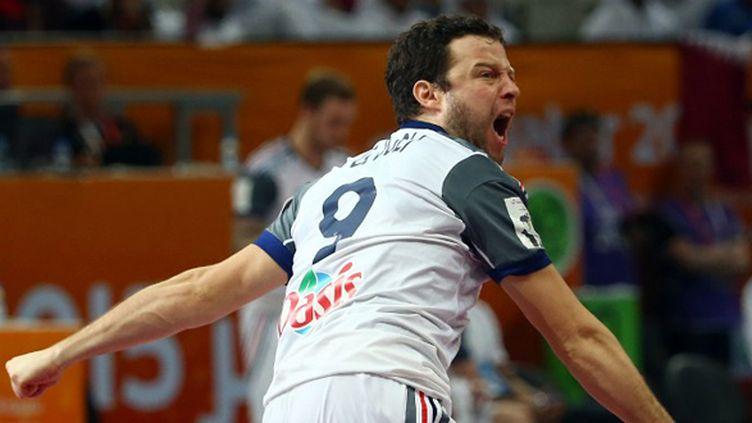 Guillaume Joli a participé à la victoire des Bleus (MARWAN NAAMANI / AL-WATAN DOHA)