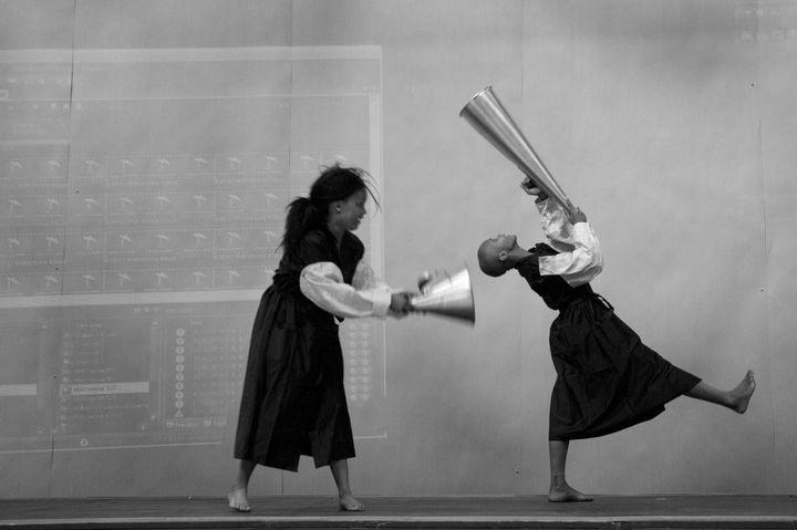 The Refusal of Time, 2010, extrait vidéo. (Photo : Henrik Stromberg. © William Kentridge / Courtesy de l'artiste & Marian Goodman Gallery, New York / Paris / Londres)