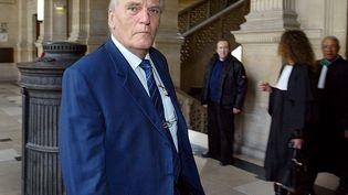 Le baron Jean-Edouard Empain au tribunal correctionnel de Paris, le 11 septembre 2003. (JACK GUEZ / AFP)