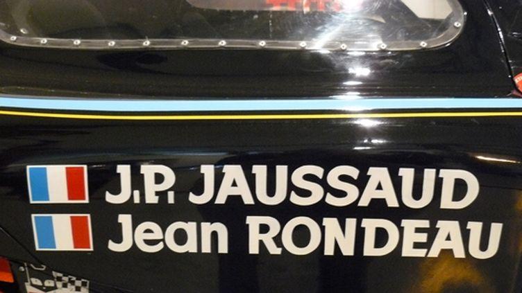 Jean Rondeau et Jean-Pierre Jaussaud, l'équipe vainqueur des 24 Heures du Mans 1980