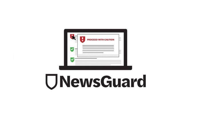 Le service d'évaluation des médias Newsguard a été lancé en 2018 aux Etats-Unis avant de se développer au Royaume-Uni et en Italie. (NEWSGUARD)