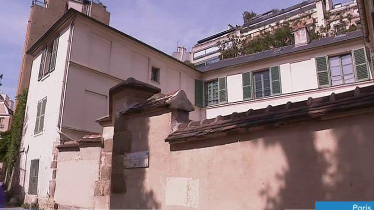 La maison de Balzac dans le 16e arrondissement de Paris (P. Aliès)