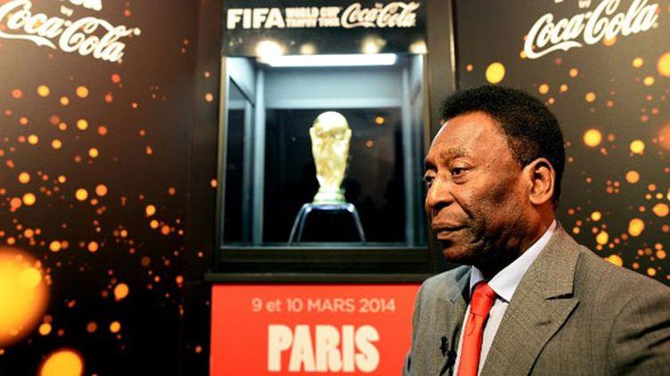 La légende du football brésilien Pelé