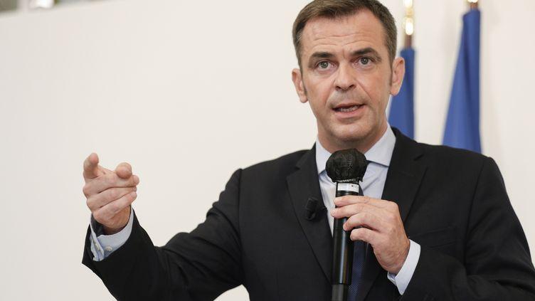 Olivier Véran, le ministre de la Santé. (GEOFFROY VAN DER HASSELT / AFP)