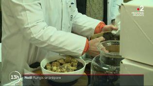 Noël : le marché de Rungis se prépare pour les fêtes de fin d'année (FRANCE 2)