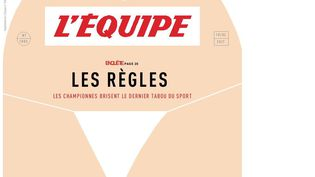 """La une de """"L'Equipe magazine"""" du 18 février 2017. (L'EQUIPE MAGAZINE)"""