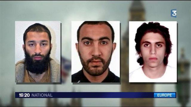 Attentat de Londres : les profils des assaillants dévoilés