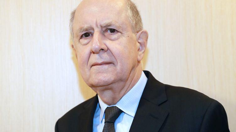 Jean-Marc Sauvé, président de la Commission indépendante sur les abus sexuels dans l'Église, à Paris le 8 février 2018. (JACQUES DEMARTHON / AFP)