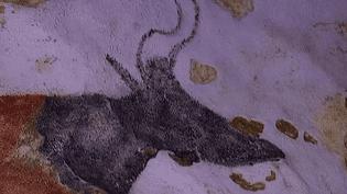 """Une copie de la grotte de Lascaux pour """"Lascaux 4""""  (Capture d'image France3/Culturebox)"""