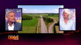 Avenue de l'Europe. Sécurité routière : comment aller vers une mobilité sereine ? Les réponses du pilote de rallye Bernard Darniche (FRANCE 3 / FRANCETV INFO)