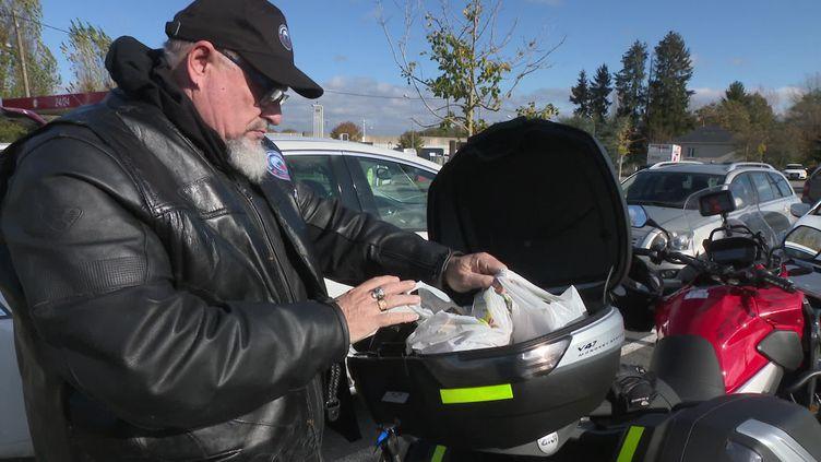 Les motard au grand coeur font les courses pour les personnes vulnérables dans la Creuse (FRANCE 3)