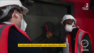 Muyani Tybebo, technicien biomasse à la chaufferie de Gennevilliers (France 2)