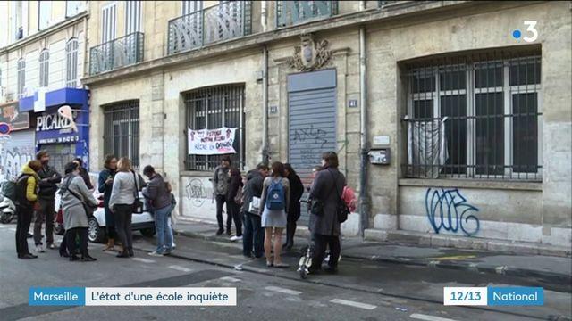 Marseille : l'état d'une école inquiète