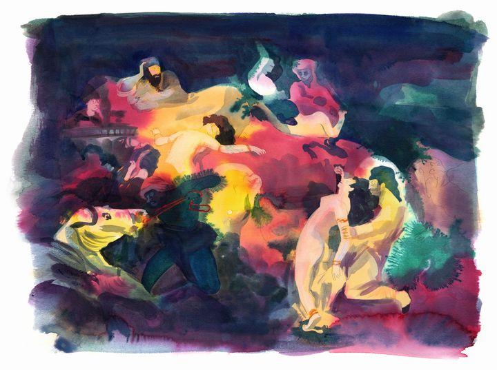 """""""Delacroix"""", Catherine Meurisse (DARGAUD 2019)"""