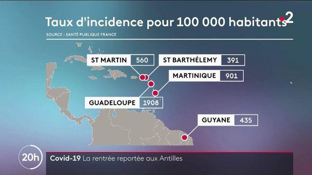 Covid-19 : la rentrée scolaire est reportée aux Antilles