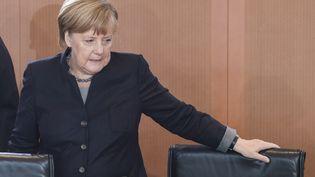 Angéla Merkel, Chancelière allemande. (JOHN MACDOUGALL / AFP)