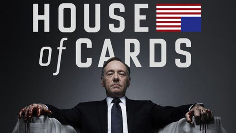 """""""House of Cards"""", la série américaine avec Kevin Spacey dans le rôle principal, est diffusée dans son intégralité sur Netflix. (NETFLIX)"""