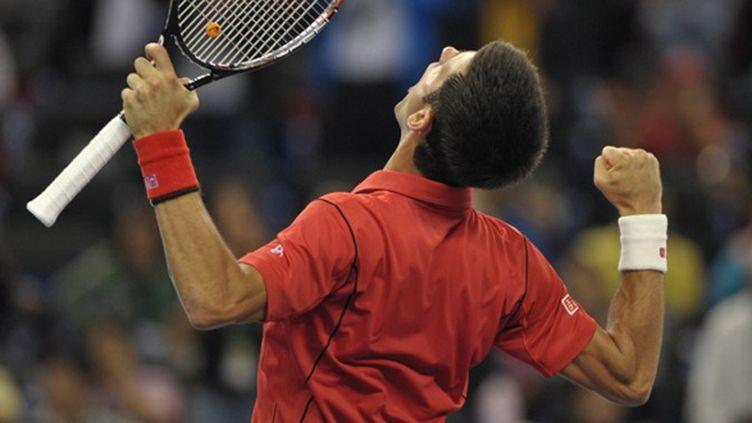 Novak Djokovic  (PETER PARKS / AFP)