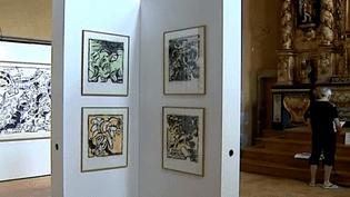 Une très belle exposition organisée par le CLAC Art contemporain  (France 3 Culturebox)