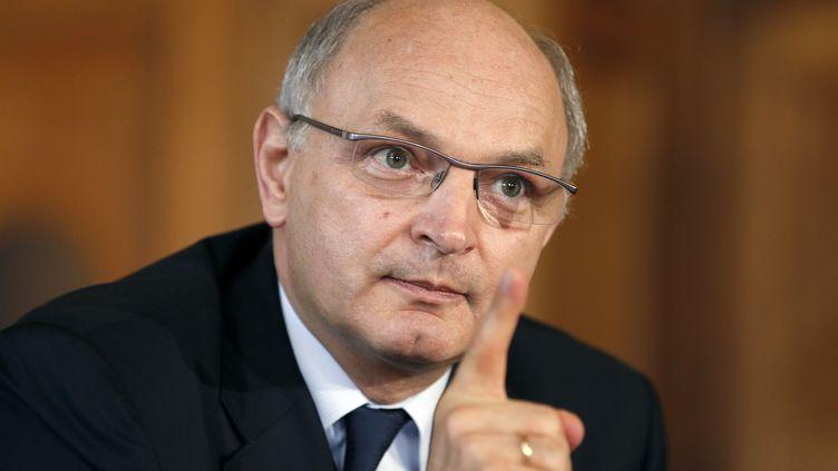 Didier Migaud, premier président de la Cour de comptes, à Paris, le 2 juillet 2012. (KENZO TRIBOUILLARD / AFP)