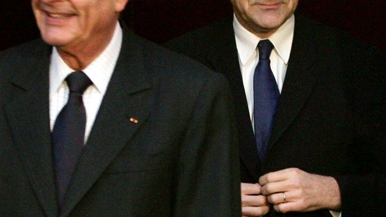 Roch-Olivier Maistre, le 15 février 2005 au palais de l'Elysée. (PATRICK KOVARIK / AFP)