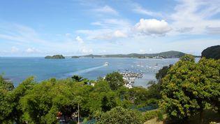 Le port deMamoudzouà Mayotte, en 2017. (Illustration). (ORNELLA LAMBERTI / AFP)