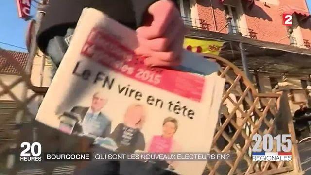 Régionales 2015 : qui sont les électeurs FN de Bourgogne ?