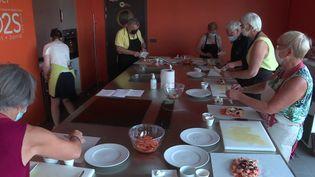 Ateliers nutrition pour seniors. (CAPTURE D'ÉCRAN FRANCE 3)