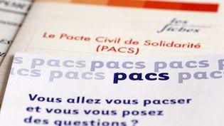 A partir du 1er novembre 2017, l'enregistrement de la déclaration de Pacs sera transféré des tribunaux d'instance aux mairies. (ALAIN LE BOT / PHOTONONSTOP / AFP)
