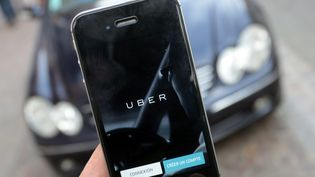 La branche française d'Uber a porté plainte, dimanche 18 décembre. (CHIBANE / MAXPPP)