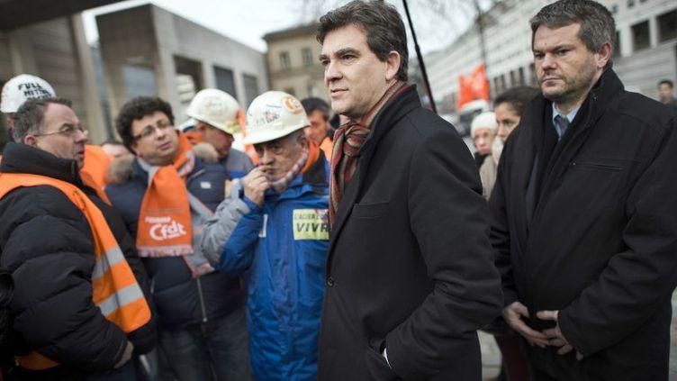 Arnaud Montebourg, le 30 novembre 2012. (FRED DUFOUR / AFP)