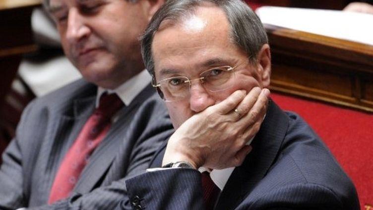 Claude Guéant lors d'une session à l'Assemblée Nationale. (AFP-Bertrand Guay)
