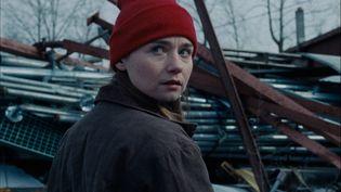 """Jessica Barden dans le film """"Holler"""" de Nicole Riegel est une lycéenne qui récupère clandestinement ducuivre et du fer pour le revendre et ainsi payer son entrée à l'université. (DR)"""