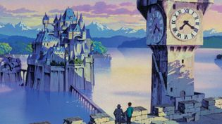 """""""Le Château de Cagliostro"""" de Hayao Miyazaki  (Monkey Punch All Rights Reserved © TMS All Rights Reserved   )"""