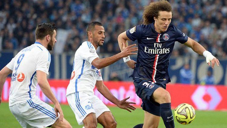 Le Parisien David Luiz s'est blessé au Vélodrome