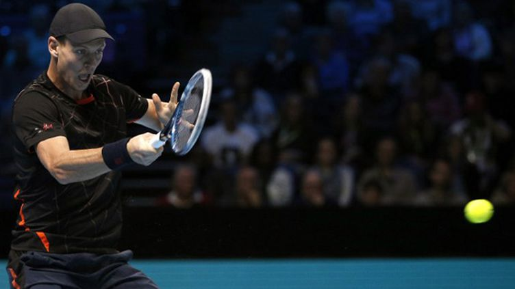 Tomas Berdych (ADRIAN DENNIS / AFP)