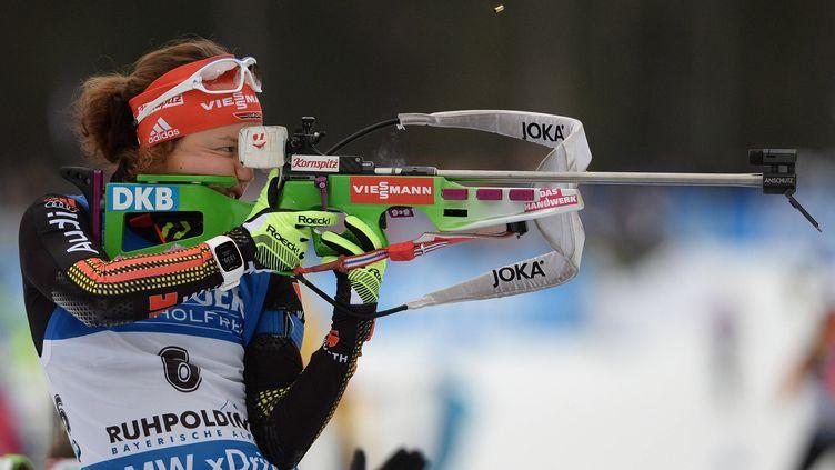 Laura Dahlmeier s'impose encore facilement.